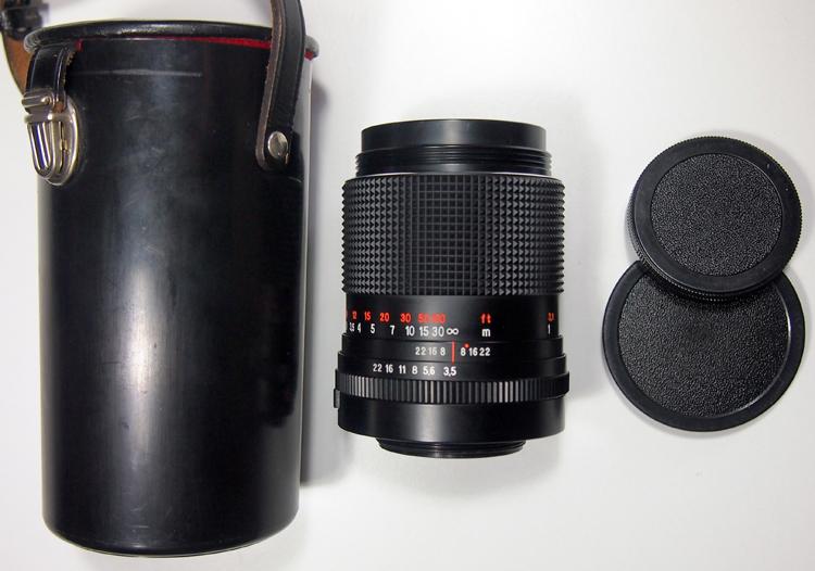 Carl Zeiss Sonnar 135 3 5   Vintage Camera Lenses