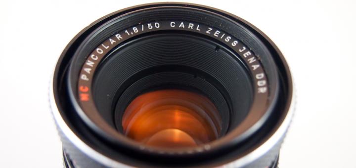Carl Zeiss Jena Pancolar 50mm 1 8 | Vintage Camera Lenses