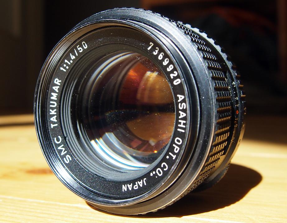 Asahi Pentax Takumar 50mm 1 4 | Vintage Camera Lenses
