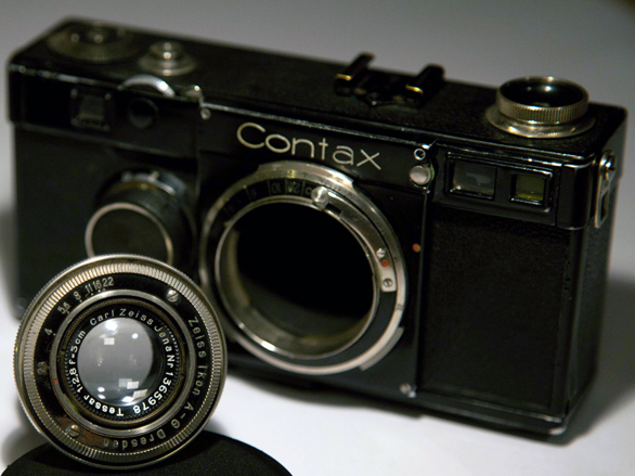 The pre-war cream of the crop - A Tessar lens for the Contax I