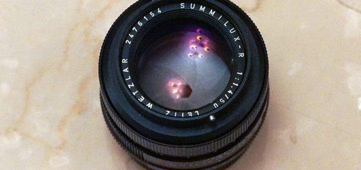 Summilux-R 50mm 1 4 – Leica-R | Vintage Camera Lenses