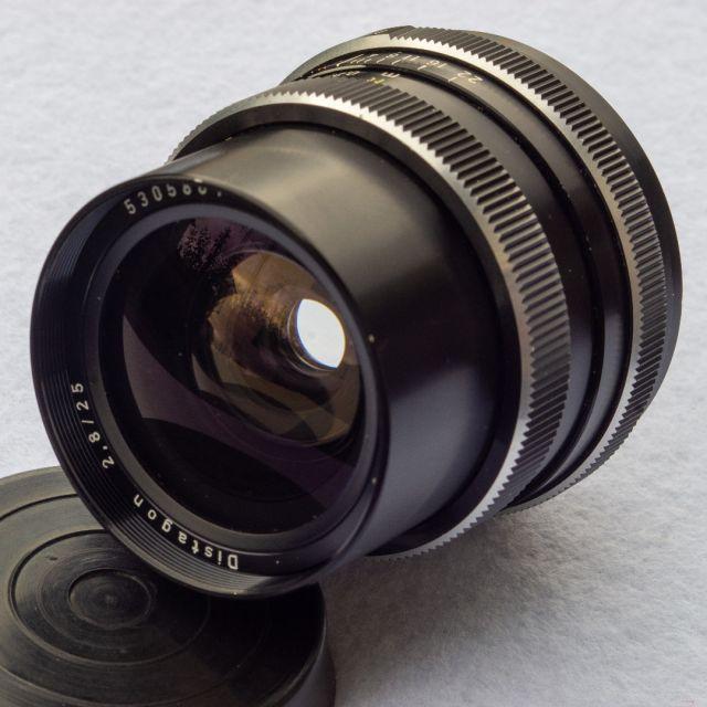 Exa Meyer Optik cebra Domiplan 2.8//50 lente//lens-Classic-camera-Store
